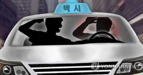 하마터면 큰 사고 날뻔…만취한 20대, 고속도서 운전중인 60대 택시기사 폭행